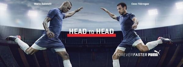 Mario Balotelli und Cesc Fábregas für Puma Werbekampagne