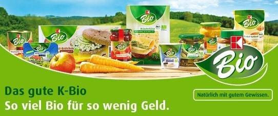 Bio Produkte im Kaufland Sortiment