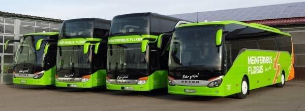 FlixBus Busflotte