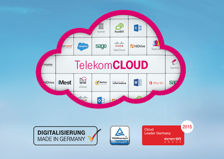 Die Telekom Cloud