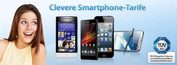 Clevere Smartphone-Tarife