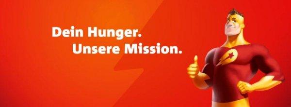 Dein Hunger - Lieferhelds Mission
