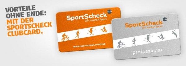 sportscheck clubcard