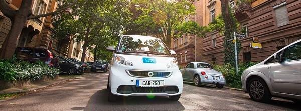 car2go Parkplätze
