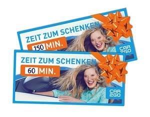 Geschenkkarten von car2go