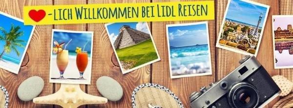 Online Angebote bei LIDL Reisen