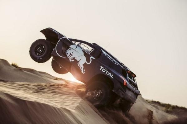 Wüstenrennen Dakar Rallye