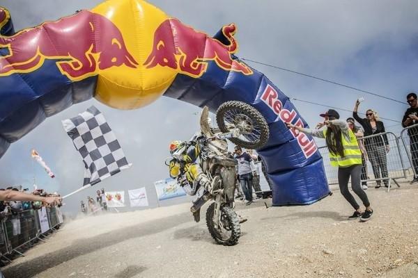 Motocross Zielgerade