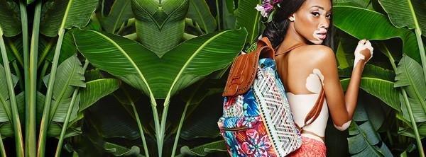 Rucksack getragen von Chantelle Winnie