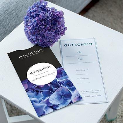 bloomydays geschenkgutschein