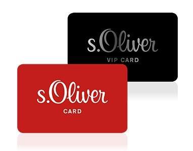 s.Oliver Card und VIP Card