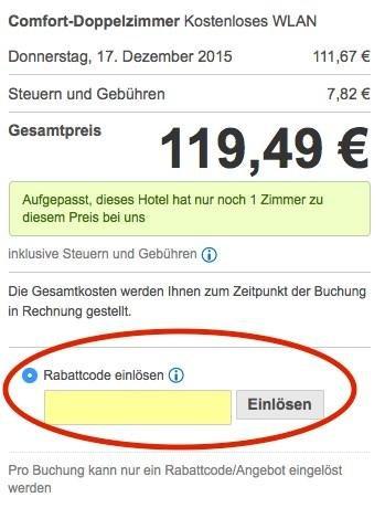 hotels com gutschein einloesen