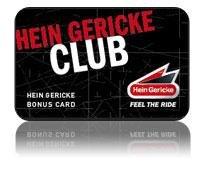 hein gericke club card bonus card