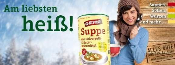 GEFRO Suppe