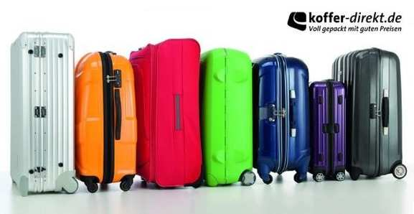 Große Auswahl an Koffern