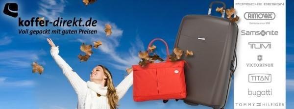 Handtaschen und Reisekoffer