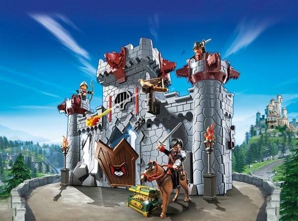 Die kultige Ritterburg von Playmobil