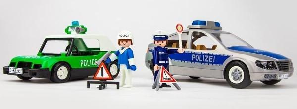 Polizeifiguren von Playmobil