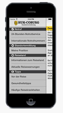 huk coburg reise app