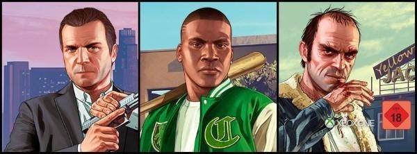Das Spiel GTA für Xbox