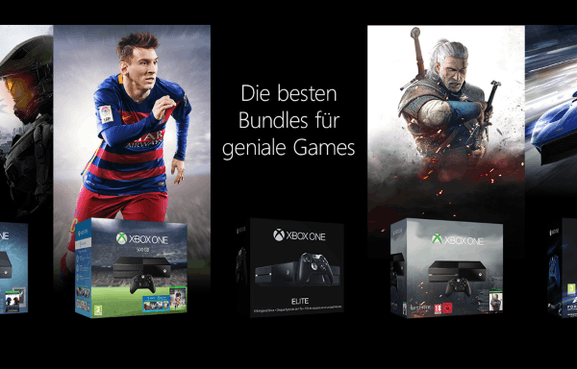 Die XBOX One als Bundle