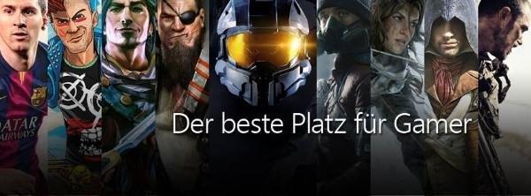 Viele Xbox Spiele