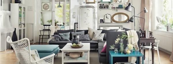 Wohnzimmer Einrichtung von IKEA