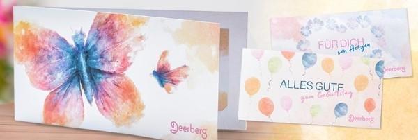 Geschenkgutscheine von Deerberg