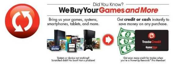 Trade-In Aktion bei GameStop