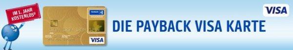 Die PAYBACK Visa-Card