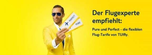 tuifly pure und perfect tarife