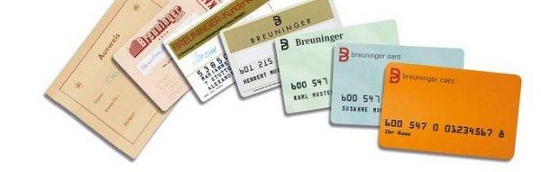 Die unterschiedlichen Breuninger Cards