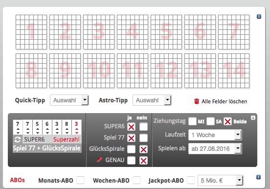lotto hessen lottoschein online