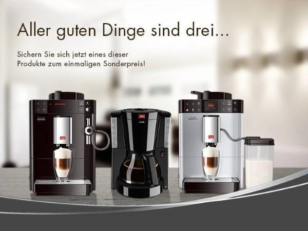 Melitta Kaffemaschine und Kaffeevollautomat