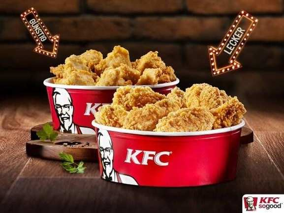 Hot Wings Filet Bites von KFC