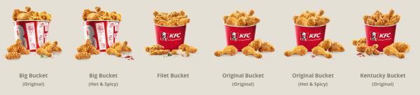 KFC Buckets