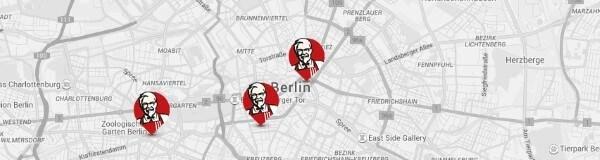 KFC Restaurants finden
