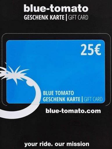 blue tomato geschenkkarte