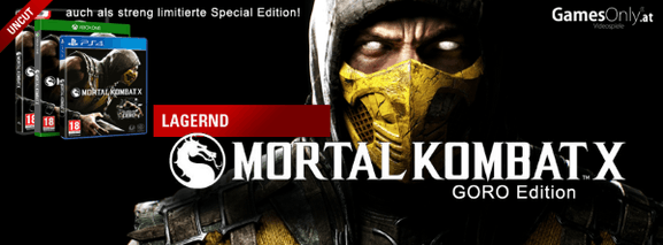 Mortal Kombat X Goro Edition bei GamesOnly