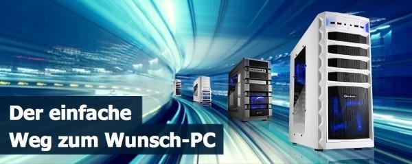 Den Wunsch-PC mit dem PC Konfigurator zusammenstellen