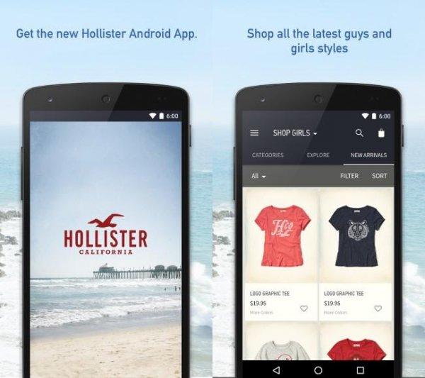 hollister app