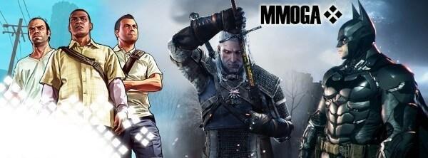 MMOGA Spiele Auswahl