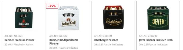 Getränke Versand von Bringmeister