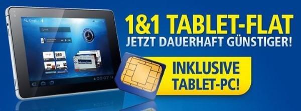 1&1 Tablet-Flat