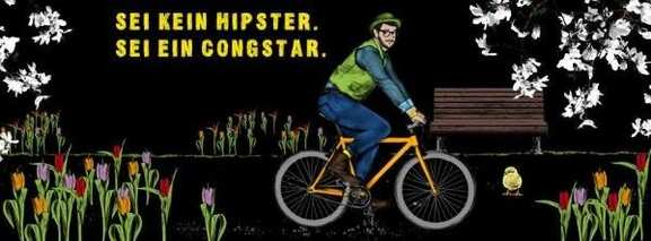 Sei kein Hipster. Sei ein Congstar