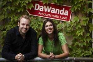 DaWanda Gründer Michael Pütz und Claudia Helming