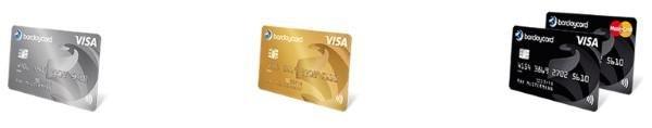 Die 3 verschiedenen Barclaycard Kreditkarten