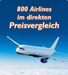800 Airlines im Flug Preisvergleich