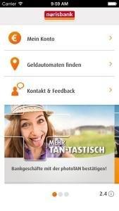 Die Norisbank App