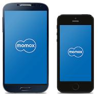 Die momox App